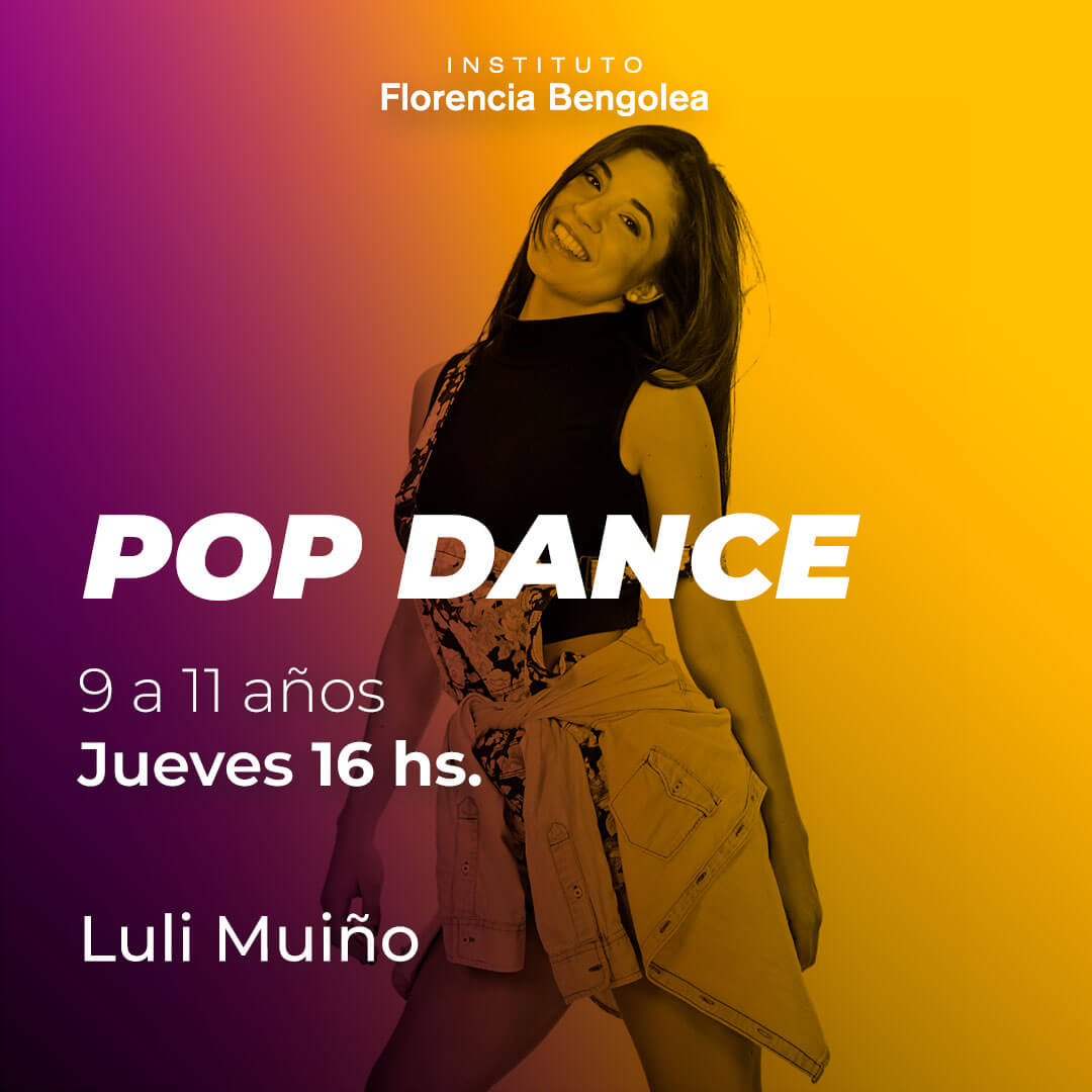 POP DANCE - Luli Muiño